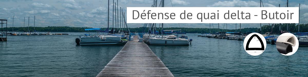 Défense delta, défense de quai, butoirs