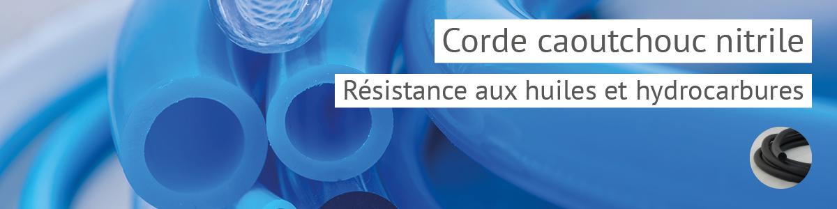 Corde, jonc NBR / Nitrile résistant aux huiles