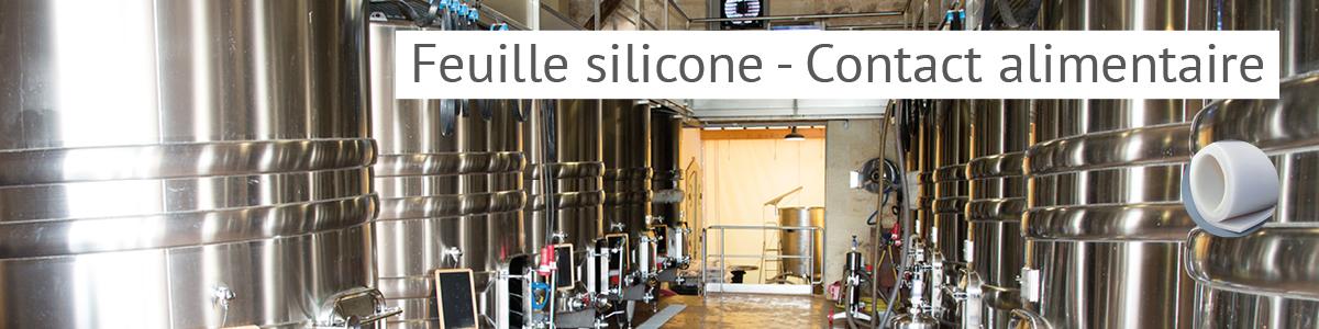 Feuille silicone FDA