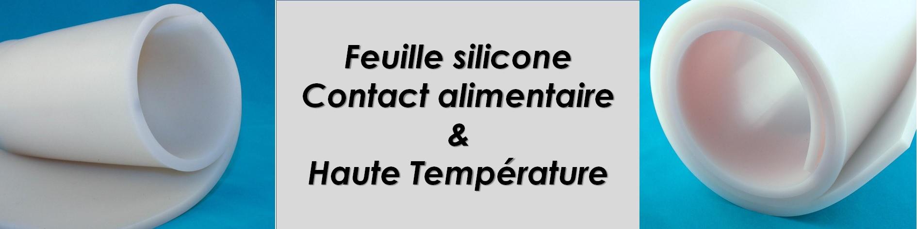 Feuille silicone haute température +230°C