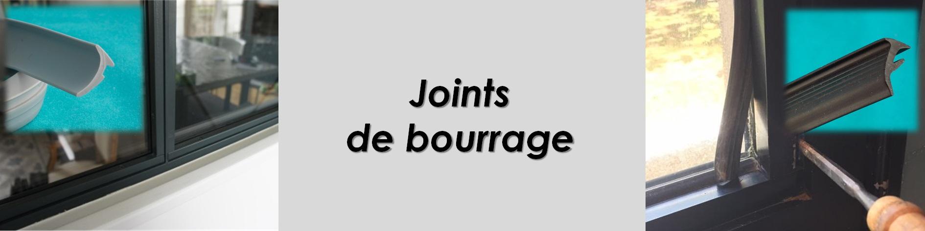 Joint de bourrage, remplacement du mastic