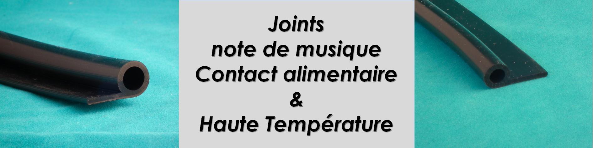 Joints note de musique, jusqu'a 210°C