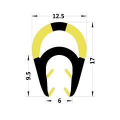 PM29042/F6087 - Amortisseur de choc protection pour IPN - Couronne 25 m