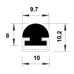 PM08005/F4592 - Protection de profilés - Carton 10 m