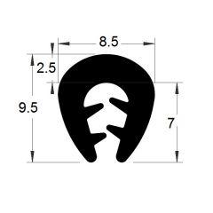 PM01002/F024 - Protection bord de tôle - Couronne 100 m