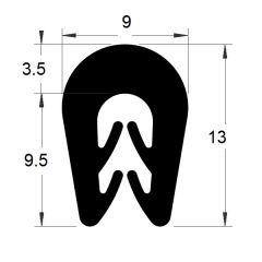 PM01003/F930 - Protection bord de tôle - Couronne 100 m