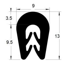 PM01004/F930 - Protection bord de tôle - Couronne 100 m