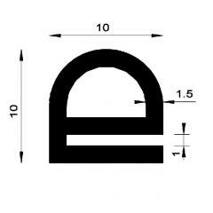 PM01068/F2775 - Protection bord de tôle - Couronne de 50 m