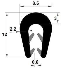 PM01090/F4658 - Protection bord de tôle - Couronne 100 m