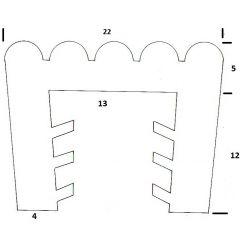 PM01093/F1121 - Protection bord de tôle - Couronne 25 m