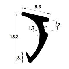 PM04028/F3629 - Joint de bourrage jeux 4 & 5 mm - Couronne 50 m