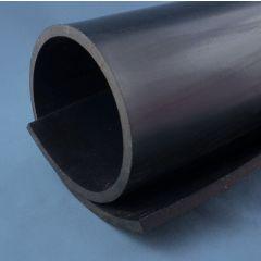 PM10026 - Feuille silicone noir épaisseur 1 mm - Le mètre