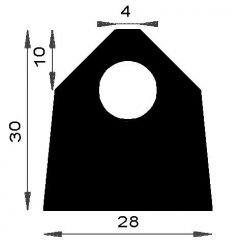 PM12005/F969 - Profil d'étanchéité - Couronne 25 m
