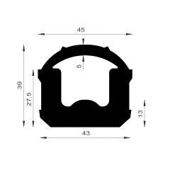 PM12009/F1657 - Joint d'étanchéité - Couronne 25 m