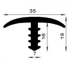 PM13001/ F452 - Profil de chant - Couronne 25 m