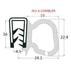 PM17047 - Joint tubulaire latéral - Couronne 50 m